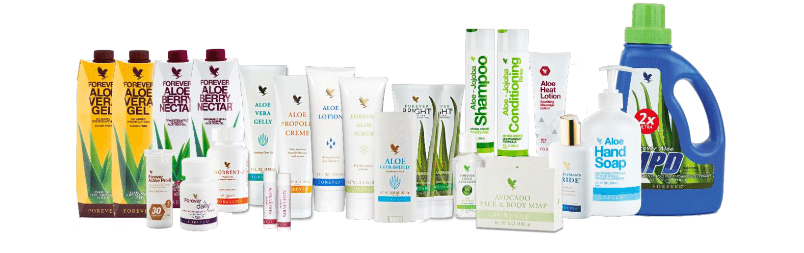 Les produits Forever Living Products